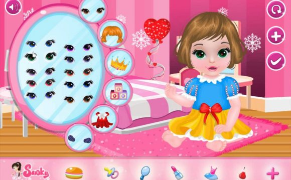 Baby Dress up Free Online