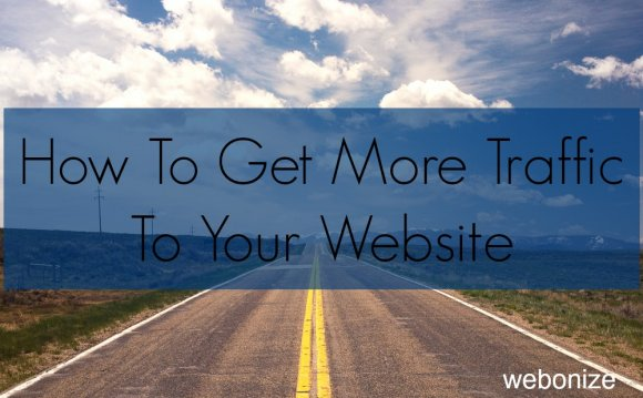 How To Get More Traffic To