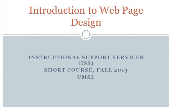 INSTRUCTIONAL SUPPORT SERVICES