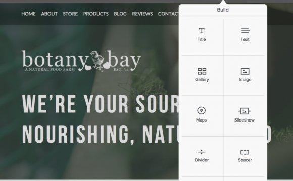 Weebly-Built Website