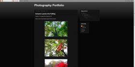 Free photography websites: Blogger