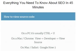 how to view a websites source code