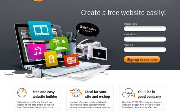 Most popular free website Builder