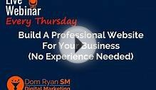 Build A Professional Website For Your Business No