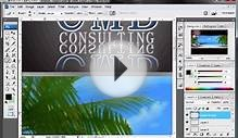 custom website design in photoshop