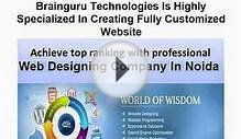 Web Designing Services In Noida
