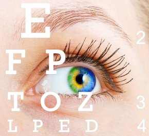 Vladyslav Starozhylov | Eye with vision chart