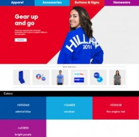 Website Color Schemes — Hillary