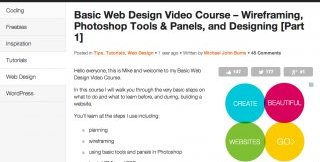 Website Design Tutorials Worth Your Time: 1st Web Designer